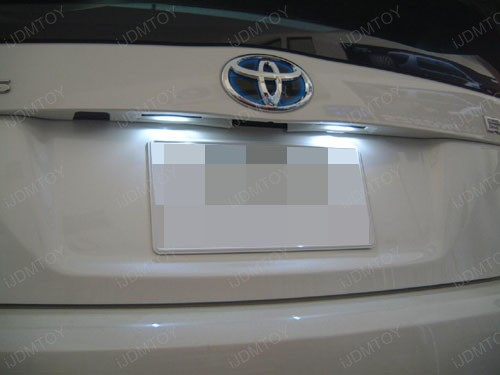 Toyota - Prius - LED - license - plate - light - 2